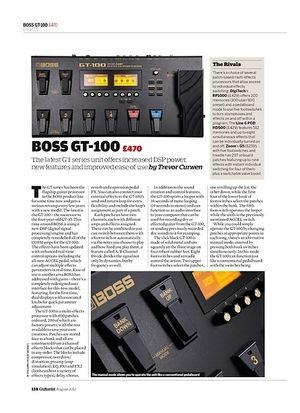 Guitarist BOSS GT-100