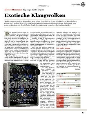 guitar gear Effekte - Electro-Harmonix Superego Synth Engine