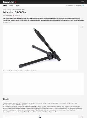 Bonedo.de Millenium DS-30 Test