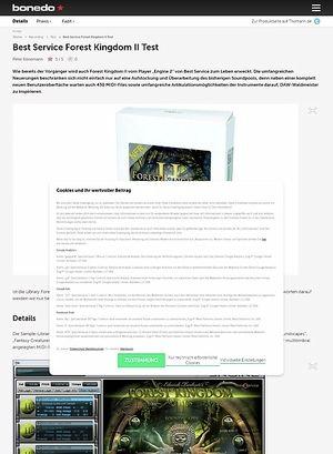 Bonedo.de Best Service Forest Kingdom II