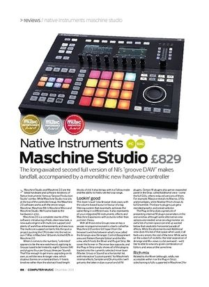 Computer Music Native Instruments Maschine Studio