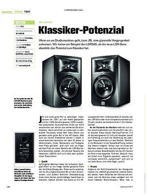 Tastenwelt JBL LSR305