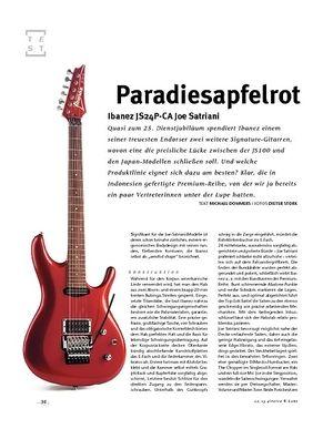 Gitarre & Bass Ibanez JS24P-CA Joe Satriani, E-Gitarre