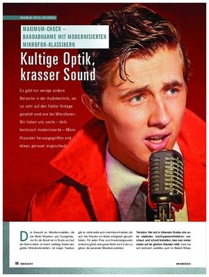 Soundcheck Modernisierte Mikrofon Klassiker