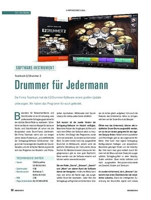 Soundcheck EZ Drummer 2