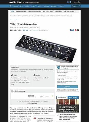 MusicRadar.com T-Rex Soulmate