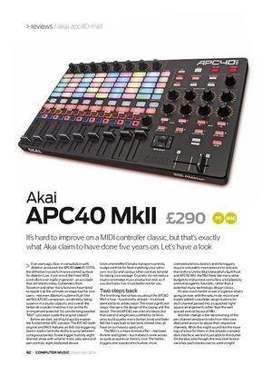 Computer Music Akai APC40 MkII