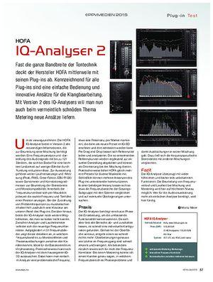 KEYS HOFA IQ-Analyser 2
