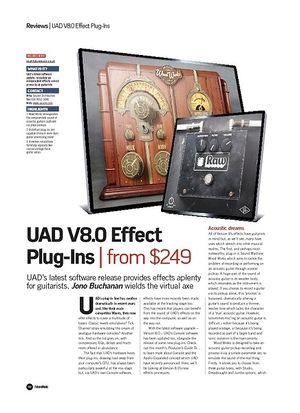 Future Music UAD V8.0 Effect Plug-Ins
