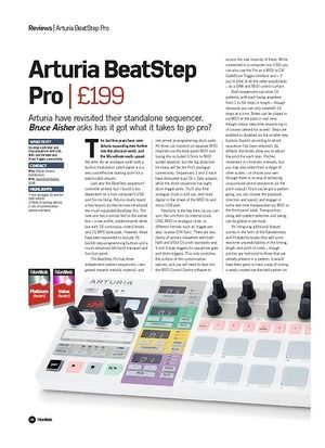 Future Music Arturia BeatStep Pro