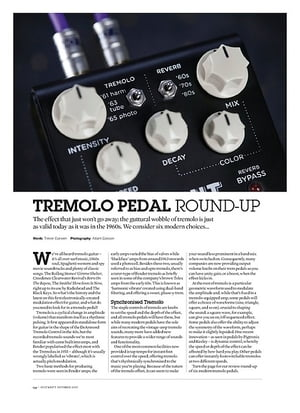 Guitarist Tremolo Pedal Round Up