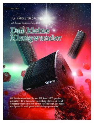 SOUNDCHECK db Technologies Entertainment System ES503