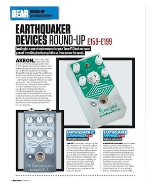 Total Guitar Earthquaker Devices Round-Up