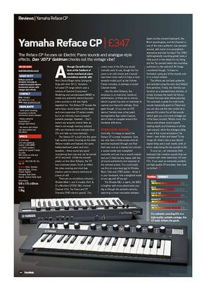Future Music Yamaha Reface CP