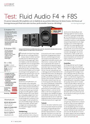 Beat Fluid Audio F4 + F8S