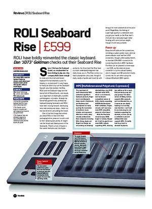 Future Music ROLI Seaboard Rise