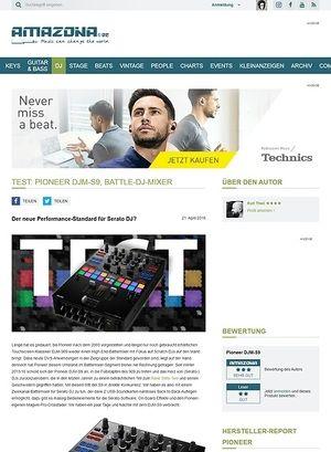 Amazona.de Test: Pioneer DJM-S9, DJ-Mixer