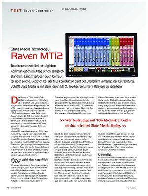 KEYS Slate Media Technology Raven MTi2
