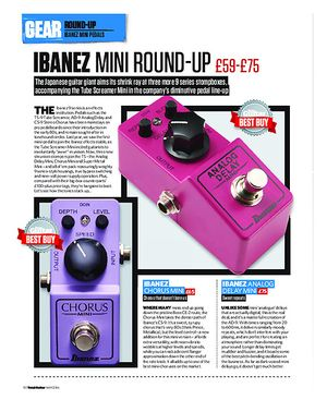 Total Guitar Ibanez Mini Round-Up