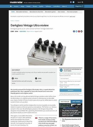 MusicRadar.com Darkglass Vintage Ultra