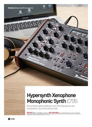 Future Music Hypersynth Xenophone Monophonic Synth