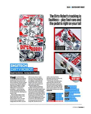 Total Guitar Digitech Dirty Robot