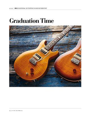 Guitarist PRS SE Tremonti Custom