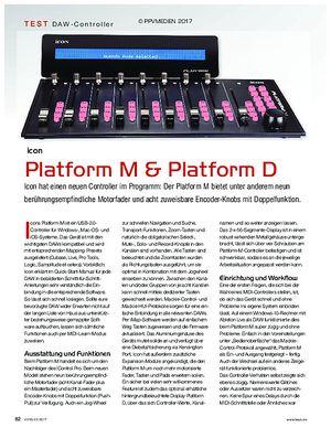 KEYS Icon Platform M und D