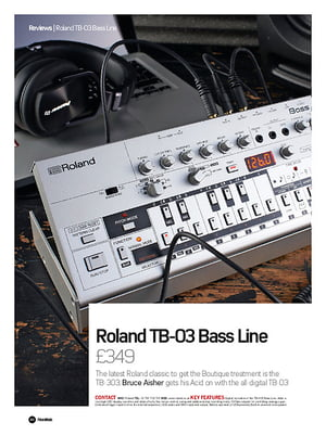 Future Music Roland TB-03 Bass Line