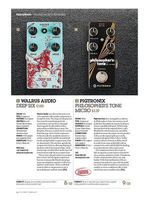 Guitarist Pigtronix Philosopher's Tone Micro