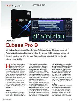KEYS Steinberg Cubase Pro 9