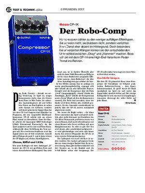 guitar Boss CP-1X