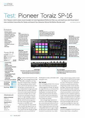 Beat Pioneer Toraiz SP-16