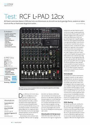 Beat RCF L-PAD 12cx