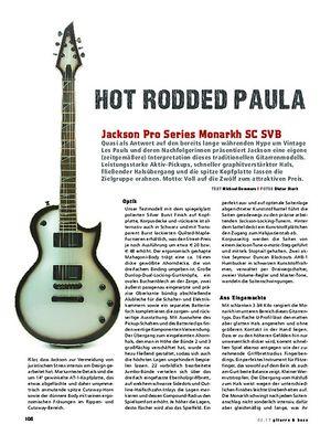 Gitarre & Bass Jackson Pro Series Monarkh SC SVB