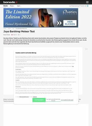 Bonedo.de Joyo BantAmp Meteor