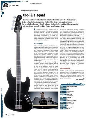 Guitar gear Bass - Fender Aerodyne Jazz Bass