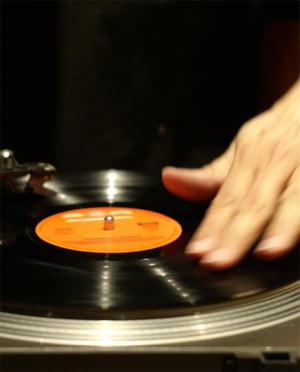 DJ-Plattenspieler