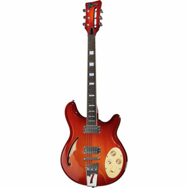 Italia Guitars Rimini 6 Cherry Sunburst
