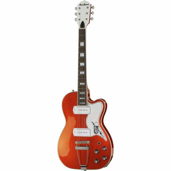 Eastwood Guitars Airline Tuxedo Copper