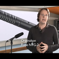 Rode NTG-2 Richtmikrofon
