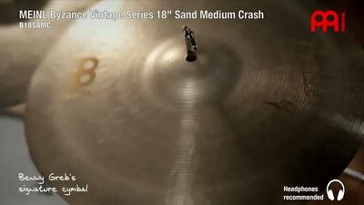 Meinl 18 Zoll Byzance Sand Medium Crash