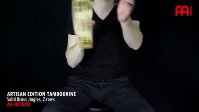 Meinl AE-MTA2B Artisan Tambourine
