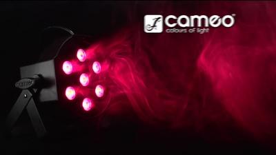 Cameo Flat Par Tri 7x3 WH - LED Par