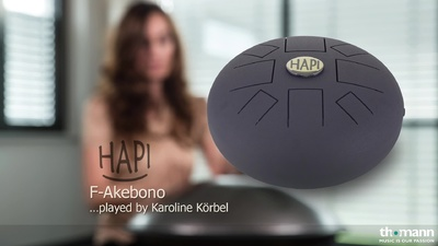 Asian Sound HAPI Slim F Akebono