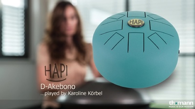 Asian Sound HAPI Drum D-Akebono