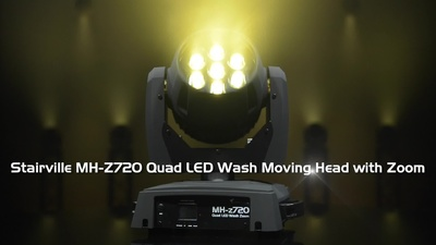 Stairville MH-z720 Quad LED Wash Moving Head