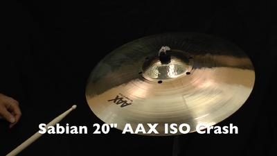 Sabian AAX 20 ISO Crash