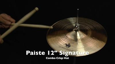 Paiste Signature Line 12 Combo Crisp Hi-Hat