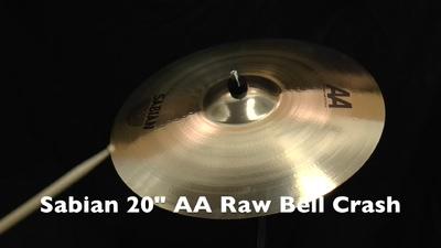 Sabian 20 AA Raw Bell Crash